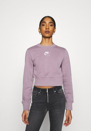AIR CREW  - Sweatshirt - purple smoke/white