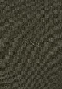 s.Oliver - Polo shirt - khaki/oliv - 6