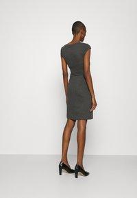 Anna Field - Žerzejové šaty - dark grey melange - 2