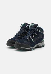 Hi-Tec - STORM WP WOMENS - Hiking shoes - sky captain/mint/navigate - 1