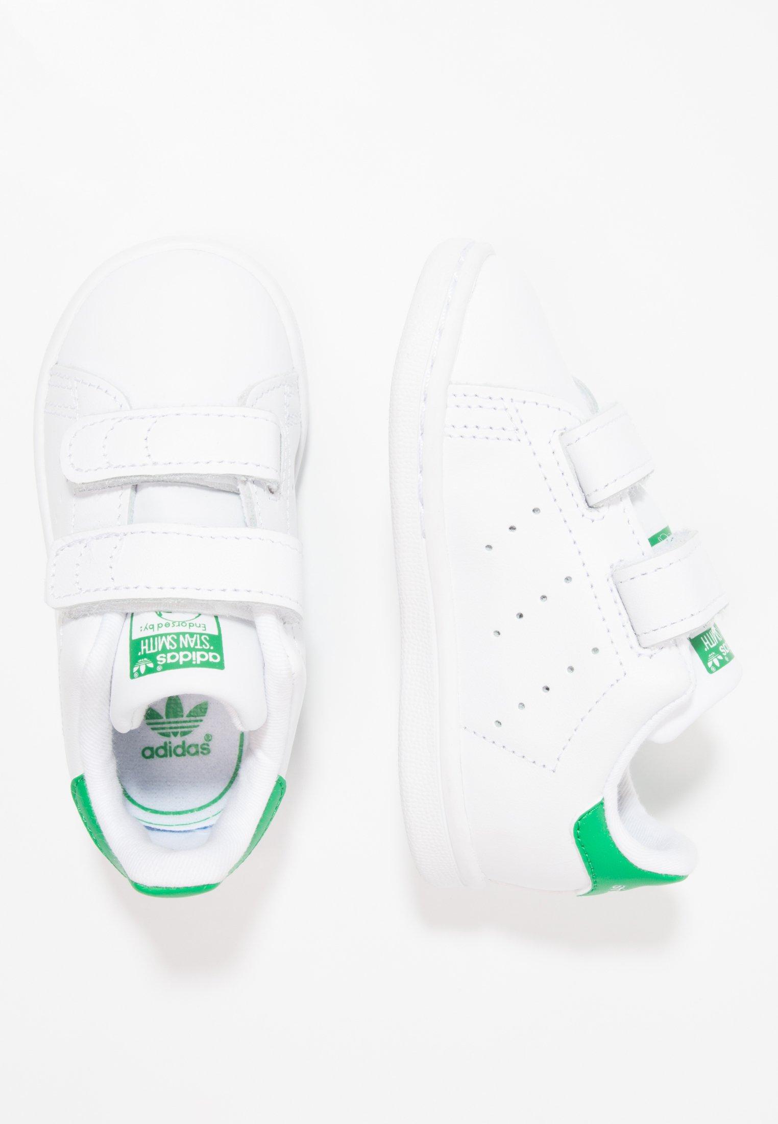 STAN SMITH CF I - Babyschoenen - white/green