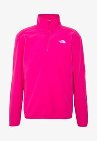 The North Face - MENS GLACIER 1/4 ZIP - Fleece jumper - pink - 3