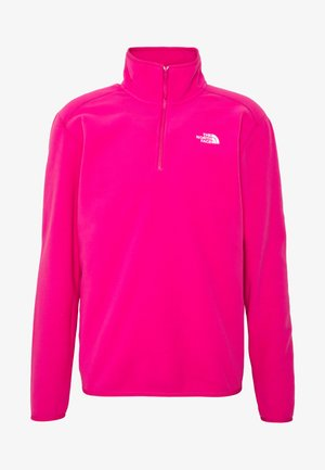 MENS GLACIER 1/4 ZIP - Sweat polaire - pink