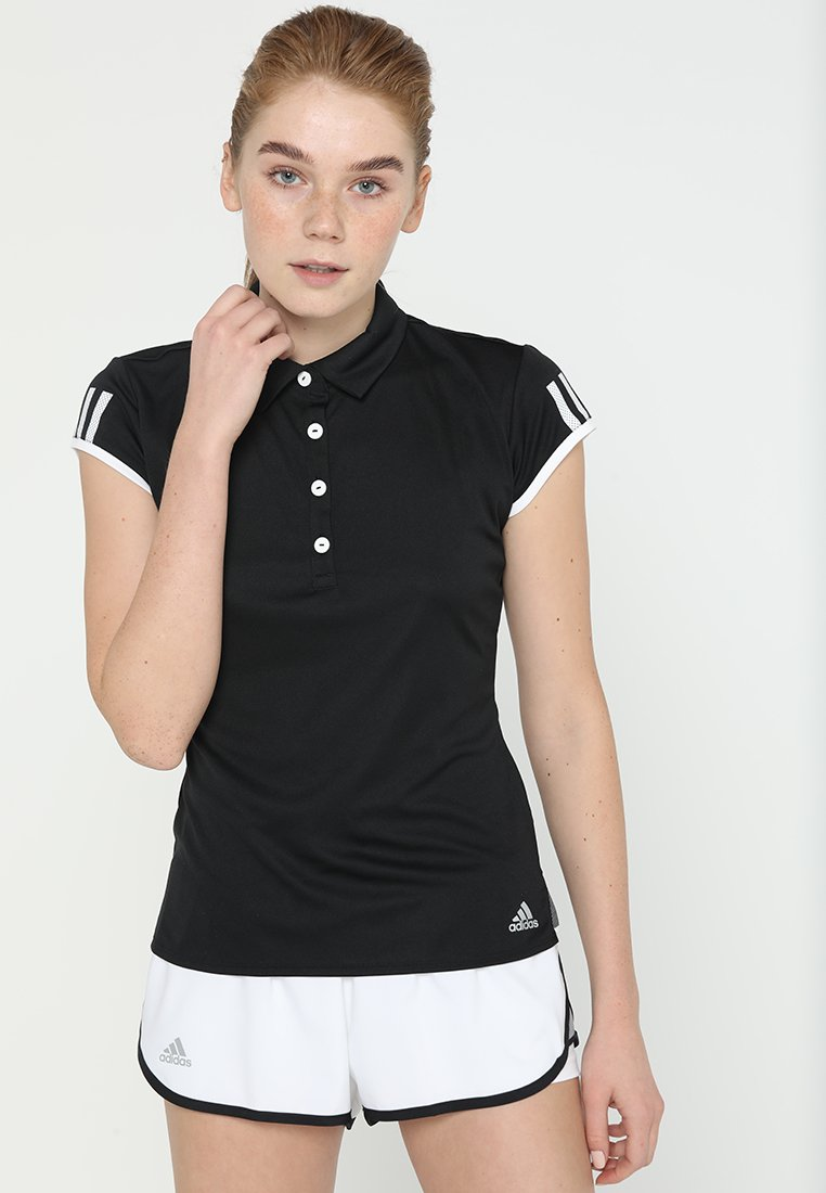 adidas Performance - CLUB - Sports shirt - black