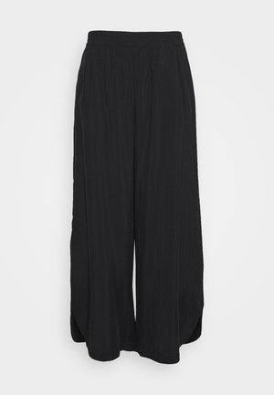 SPRINGER TROUSERS - Stoffhose - black