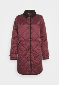 Barbour - PEPPERGRASS QUILT - Winter coat - eggplant - 4