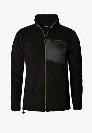WAVESOM - Fleece jacket - black