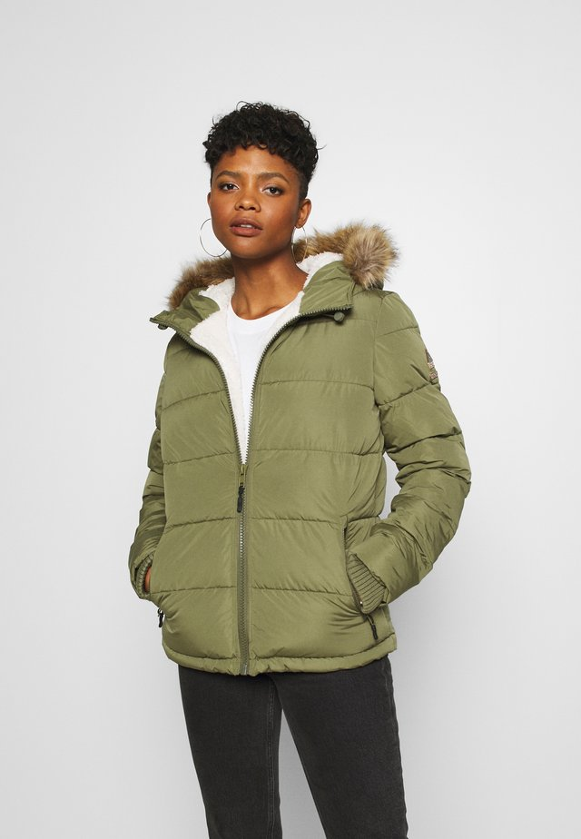 KERAMA MICROFIBRE JACKET - Winter jacket - khaki