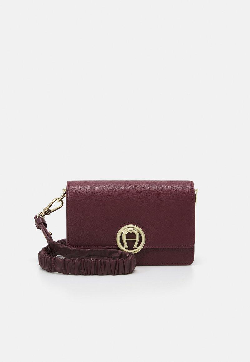 AIGNER - BAG - Across body bag - burgundy