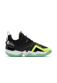 Jordan - WESTBROOK ONE TAKE - Basketball shoes - black/volt-white-green glow - 5