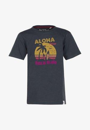 ALOHA - Print T-shirt - dark-grey