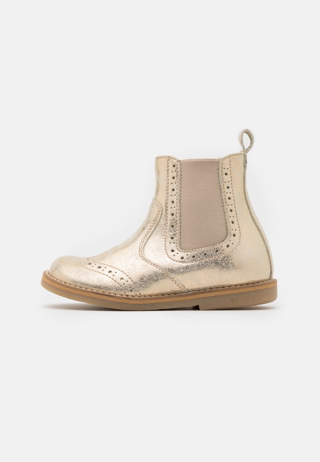 CHELYS BROGUE - Stiefelette - gold