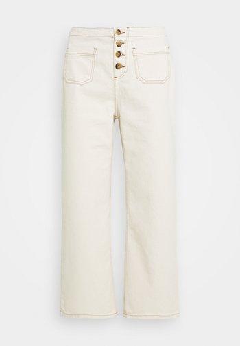 Pantalones - ecru