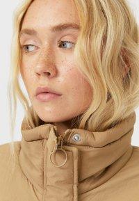 Stradivarius - Winter jacket - light brown - 3