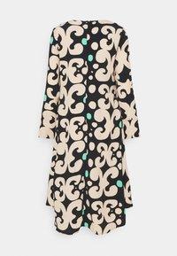 Marimekko - KEHO PIENI KEIDAS DRESS - Robe d'été - black/beige/green - 6