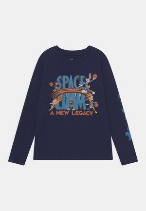 SPACE JAM  ALL IN LOGO TEE UNISEX - Langarmshirt - navy