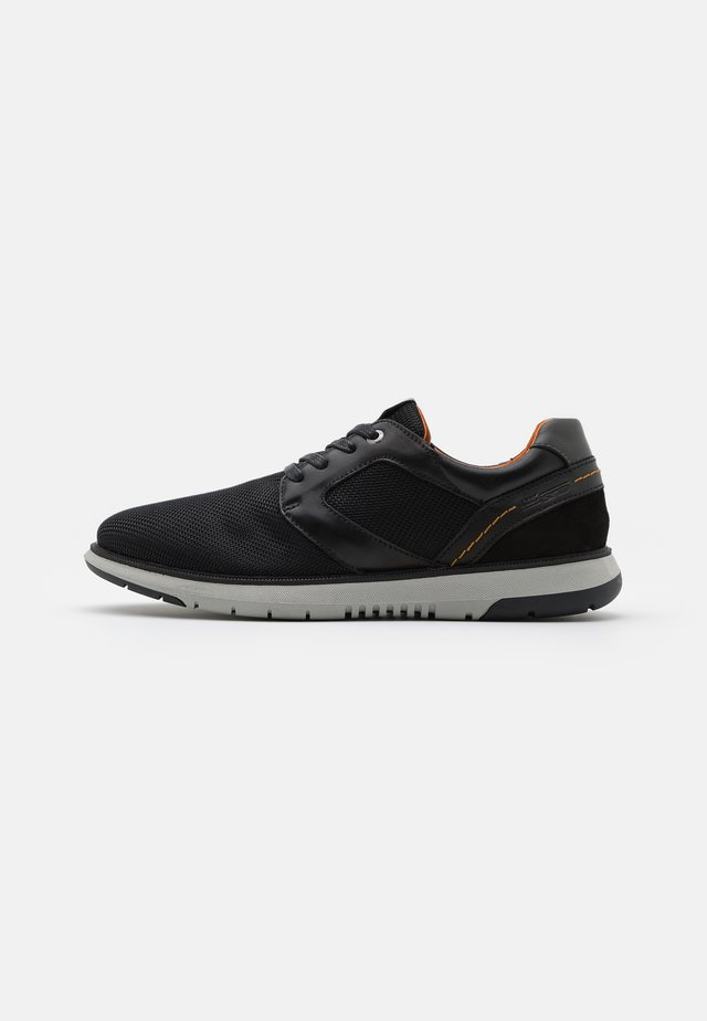 MATEON - Sneakers laag - black