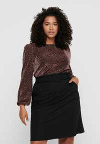 ONLY Carmakoma - Long sleeved top - black - 0