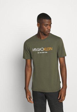 Camiseta estampada - dark olive