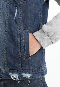 Brave Soul - Denim jacket - blue denim/grey - 5