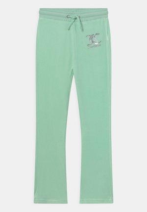 Teplákové kalhoty - mist green
