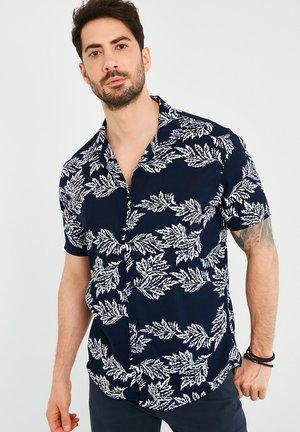 Overhemd - navy blue-white