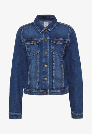 ONLWESTA LIFE JACKET  - Denim jacket - dark blue denim