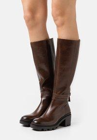 Zign - Boots - dark brown - 0