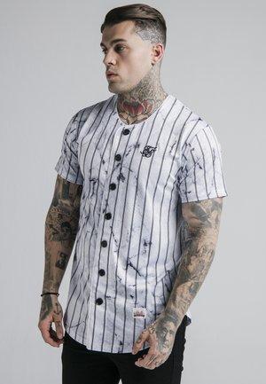 MARBLE STRIPE BASEBALL - Overhemd - grey/white