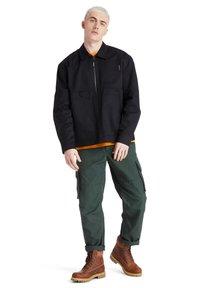 Timberland - YC WORKWEAR JACKET - Summer jacket - black - 1