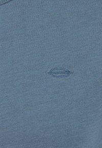Key Largo - SUGAR  - Basic T-shirt - flintstone blue - 2