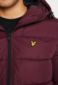 Lyle & Scott - WADDED JACKET - Vinterjakke - burgundy - 5