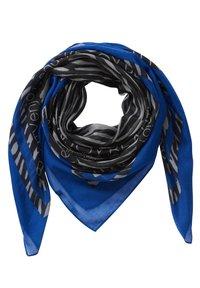 Betty Barclay - TUCH MIT PRINT - Scarf - blue black - 2