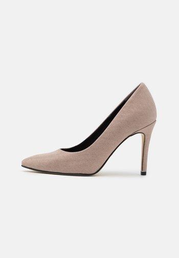 COURT SHOE - High heels - champagne