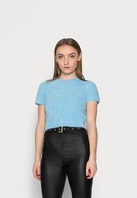 Glamorous Petite - Basic T-shirt - blue - 0