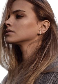 No More - DOUBLE PIPE  - Earrings - silver - 1