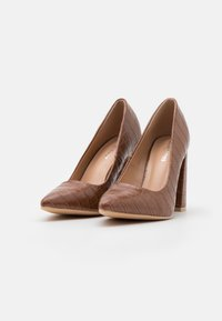 Glamorous Wide Fit - Lodičky na vysokém podpatku - brown - 2