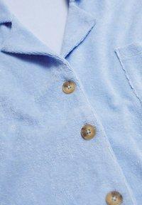Mango - Overhemdblouse - hemelsblauw - 7