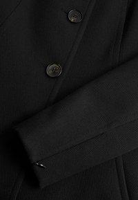 Mango - KATOENEN - Klasyczny płaszcz - zwart - 7