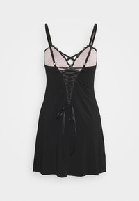 Pour Moi - CONFESSION CHEMISE - Nightie - black/pink - 1