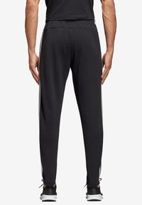 adidas Performance - ESSENTIALS 3STRIPES FRENCH TERRY SPORT PANTS - Tracksuit bottoms - black - 1