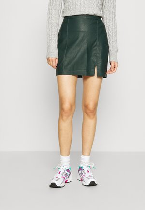 ALINE  - Mini skirt - dark green