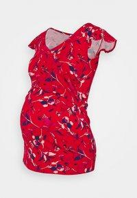 Envie de Fraise - FRANCINE - Print T-shirt - red/pink/purple - 0