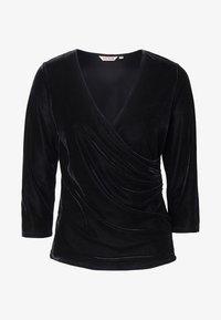 Indiska - MONTROSE - Långärmad tröja - black - 2