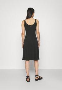 Ragwear - TRISHA - Jersey dress - black - 2