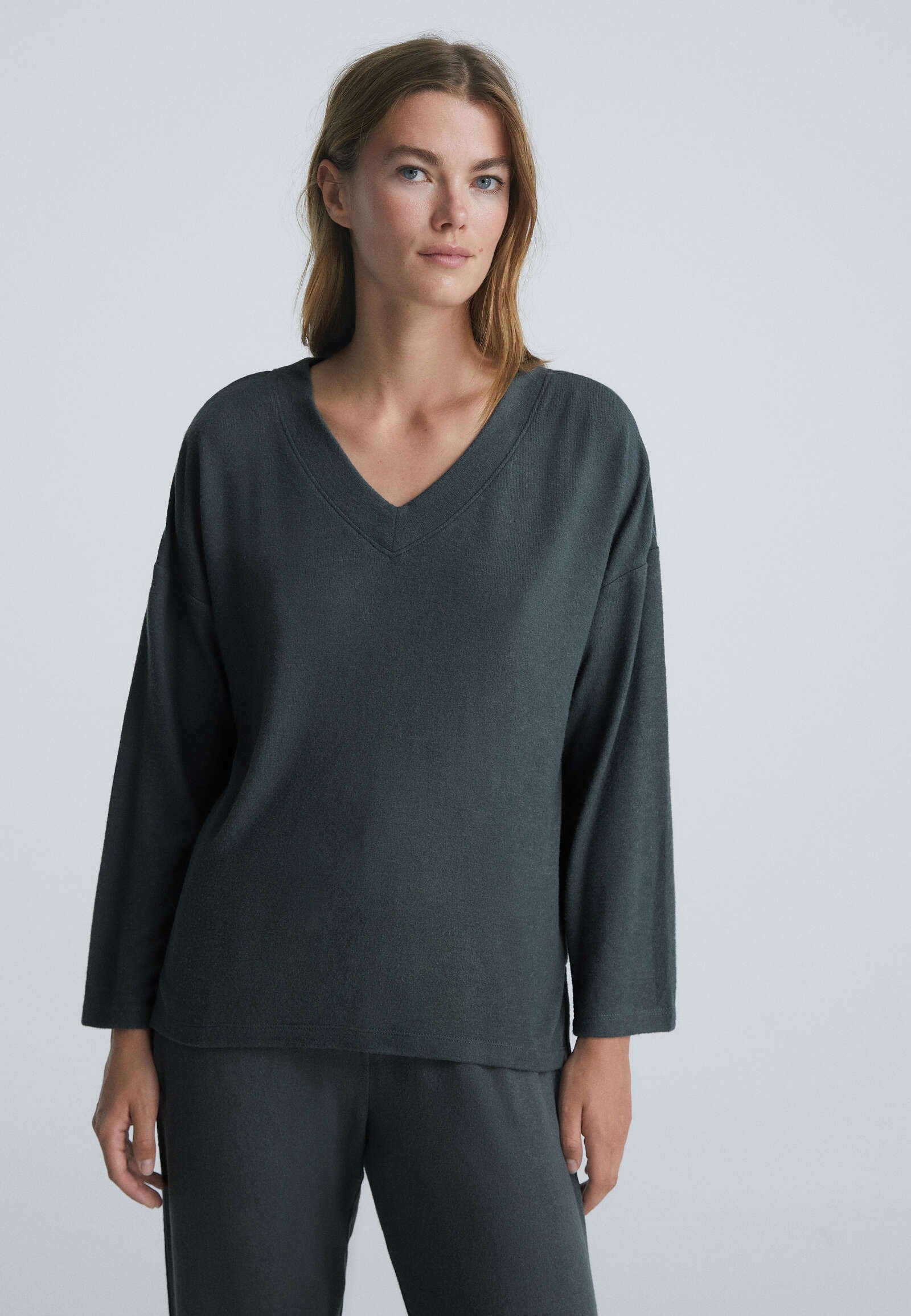 Donna SOFT TOUCH LONG-SLEEVED   - Maglia del pigiama