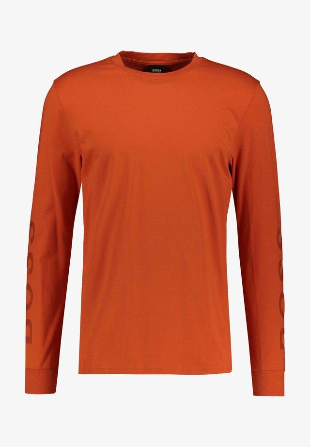 Långärmad tröja - orange