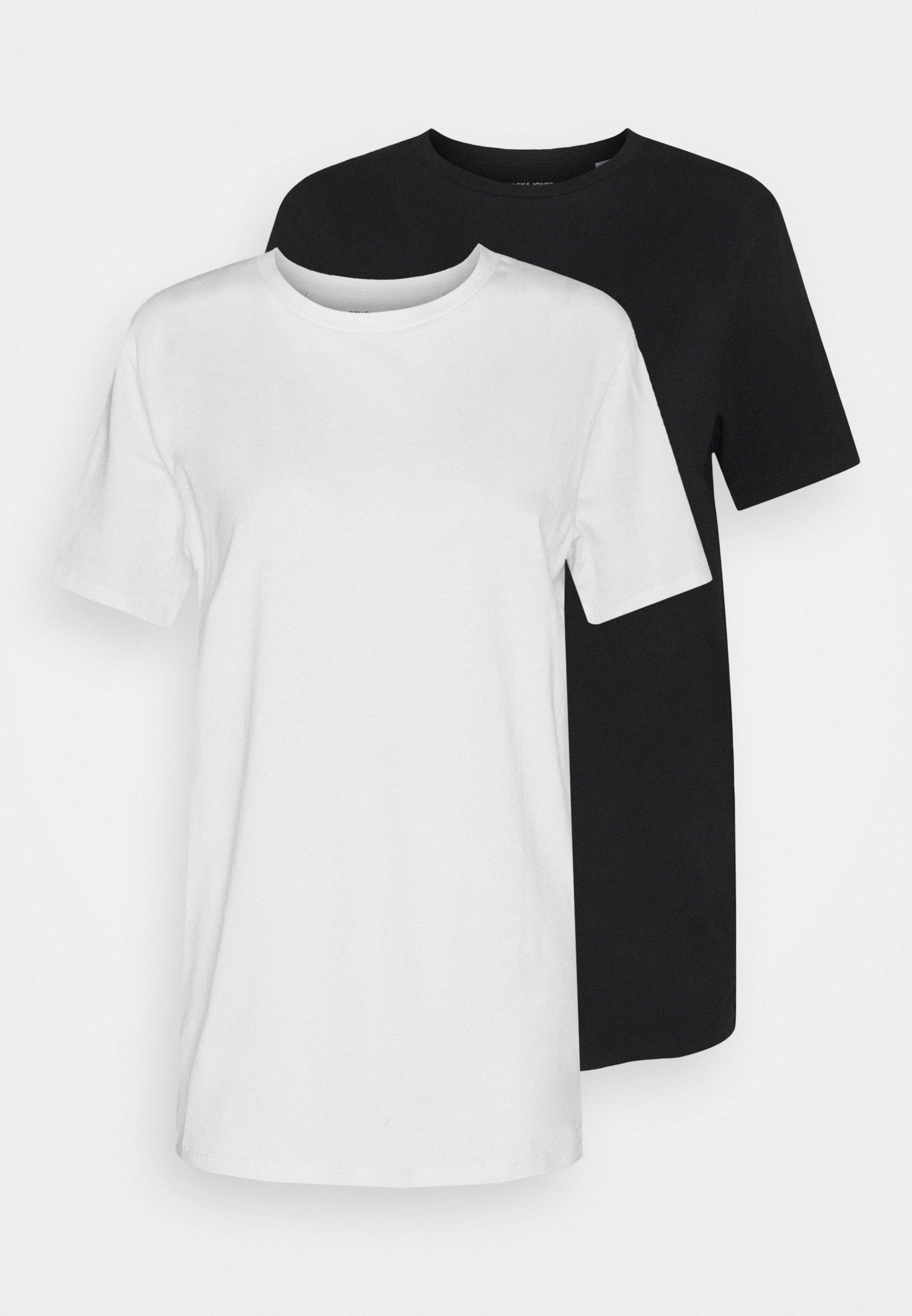 Men JJEMUSCLE FIT TEE 2 PACK - Basic T-shirt