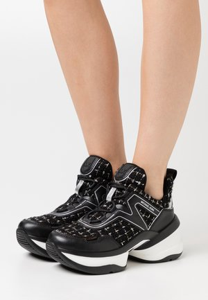 OLYMPIA TRAINER - Baskets basses - black