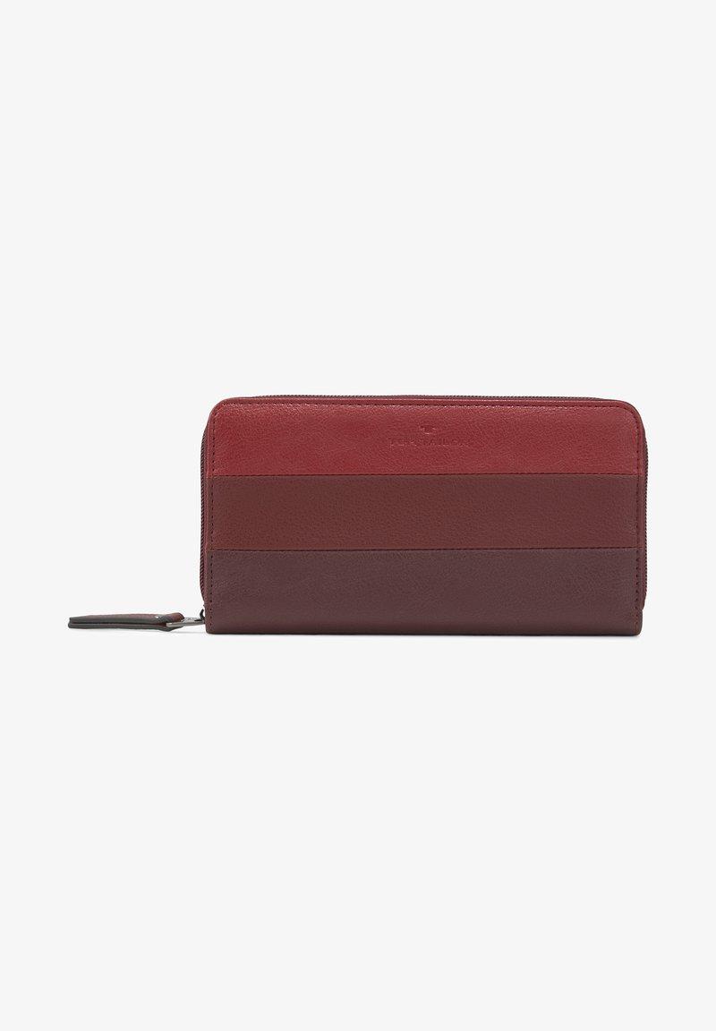 TOM TAILOR - ELLEN - Wallet - mixed red